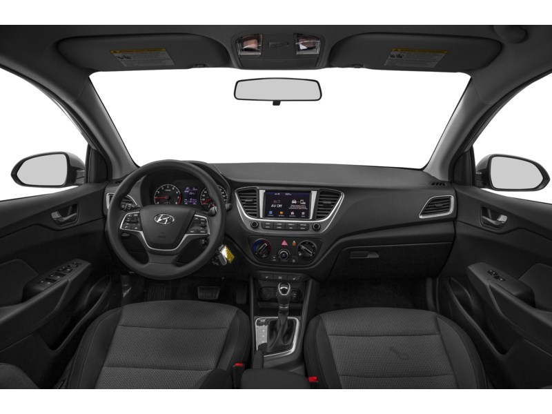 2019 Hyundai Accent HATCH BACK PREFERRED AUT0 Interior Shot 6