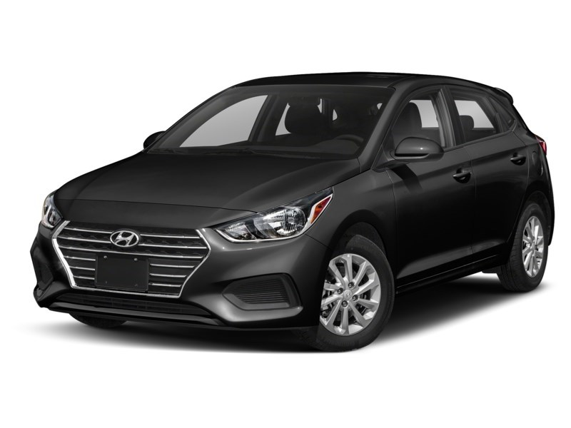 2019 Hyundai Accent HATCH BACK PREFERRED AUT0 Aurora Black Pearl  Shot 1