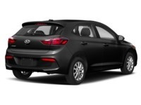 2019 Hyundai Accent HATCH BACK PREFERRED AUT0 Aurora Black Pearl  Shot 2