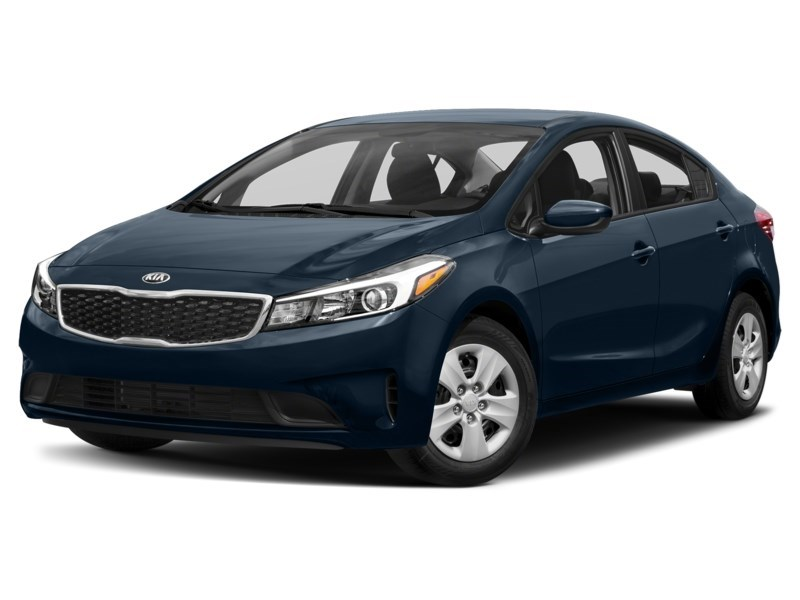 2017 Kia Forte LX + CRUISE/LARGE LCD /CAM/BLUETOOTH/HTD SEATS &MO Hyper Blue Metallic  Shot 1
